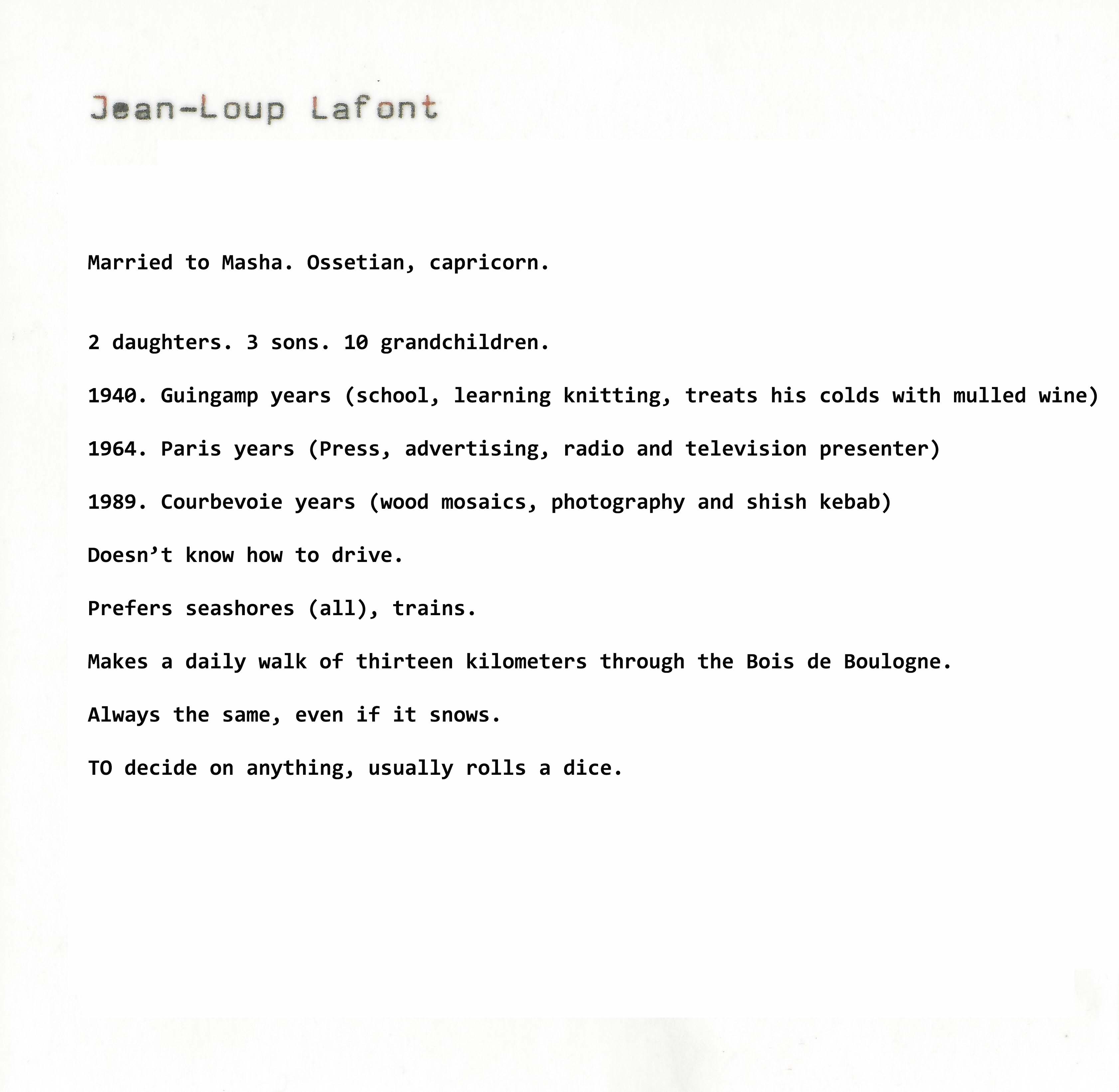 Jean-Loup lafont_English
